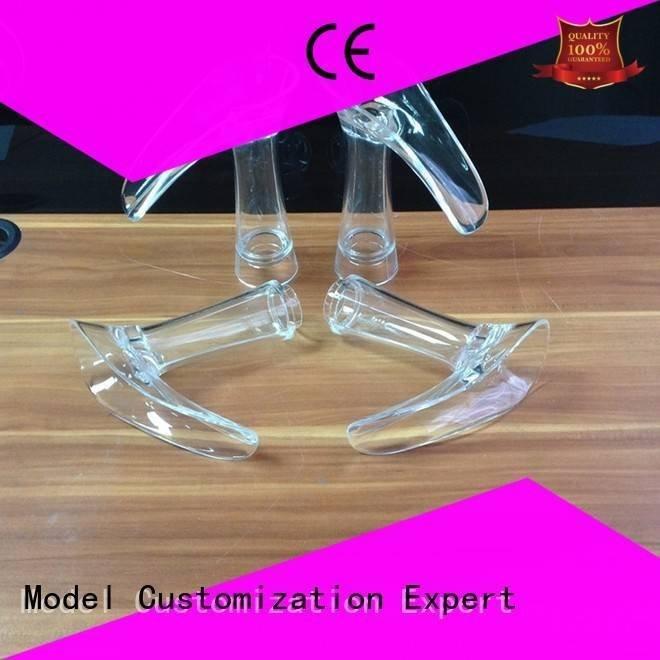 Quality 3d print transparent plastic Gaojie Model Brand custom Transparent Prototypes