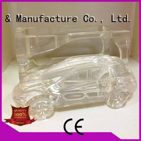 Gaojie Model Brand acrylic parts abs Transparent Prototypes